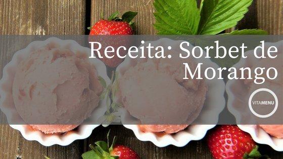 Receita: Sorbet De Morango