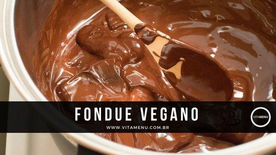 Receita: Fondue Vegetariano / Vegano