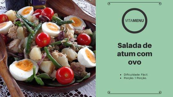 [Receita] Salada Light De Atum