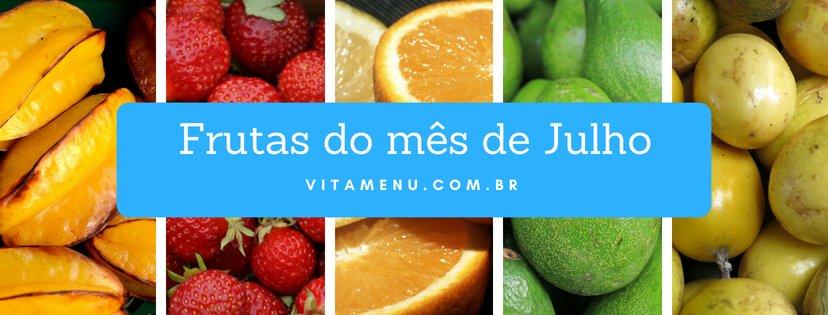 Safra: Frutas Da época (mês De Julho)