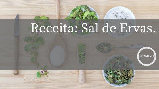 Receita: Sal De Ervas