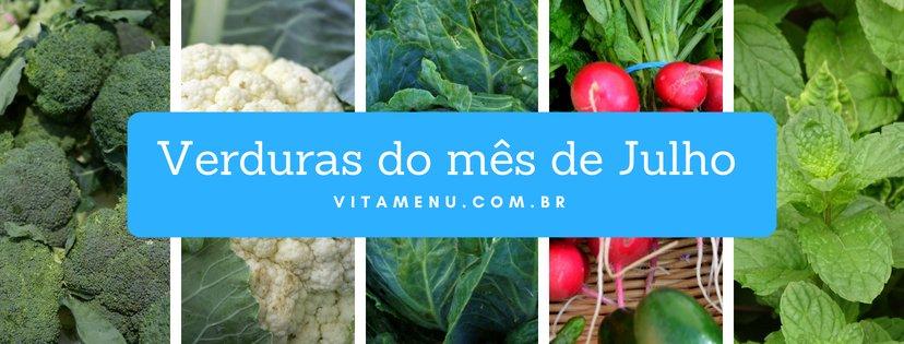 Safra: Verduras Da época (mês De Julho)