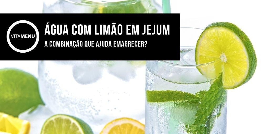 Agua com limão em jejum ajuda emagrecer