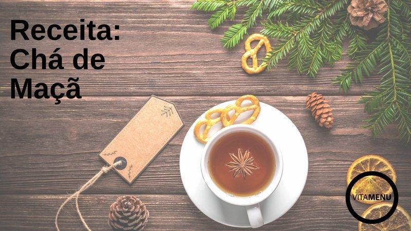 [Receita] Chá De Maça