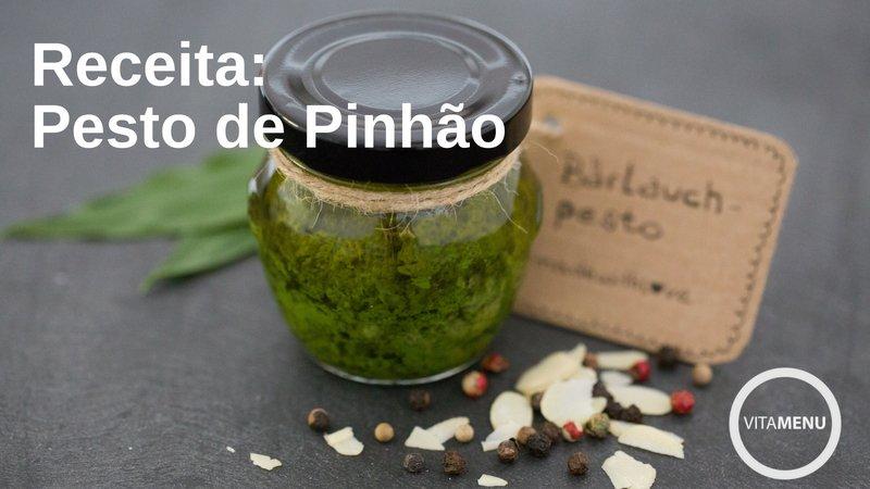 [Receita] Pesto de Pinhão