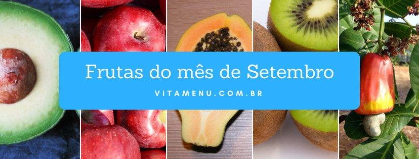 [Safra] Frutas Da época Do Mês De Setembro