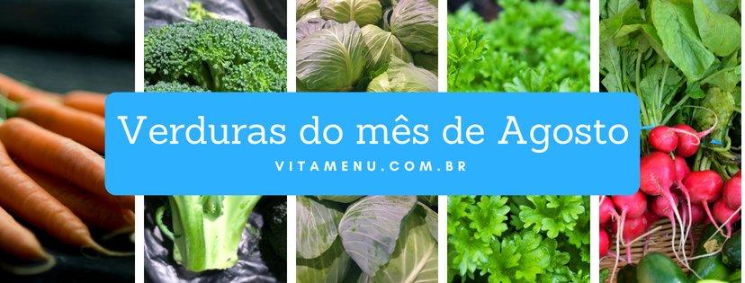 [Safra] Verduras Da época Do Mês De Agosto