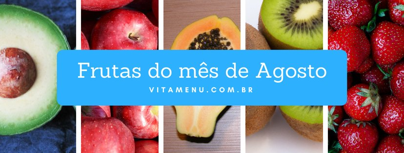 [Safra] Frutas Da época Do Mês De Agosto