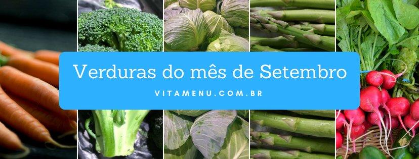 [Safra] Verduras Da época Do Mês De Setembro