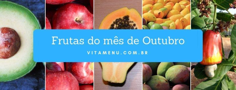 [Safra] Frutas Da época Do Mês De Outubro