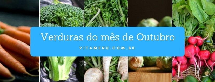 [Safra] Verduras Da época Do Mês De Outubro