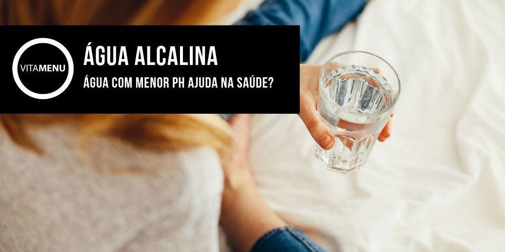 agua com menor ph ajuda na saude