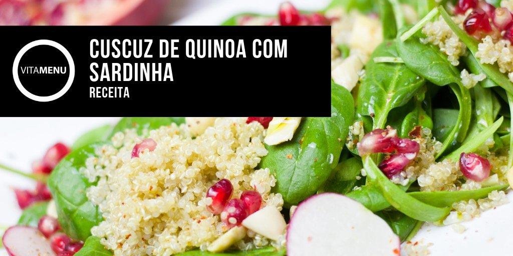 Cuscuz De Quinoa Com Sardinha