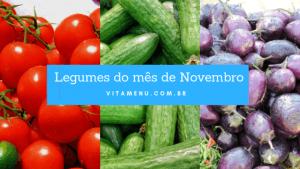 Legumes da Época Novembro