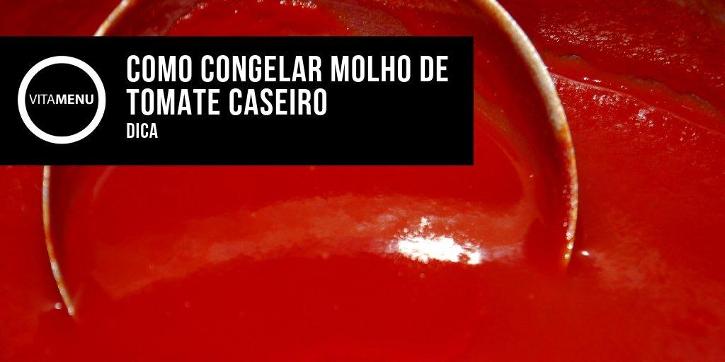 [Dicas] Como Congelar Molho De Tomate Caseiro