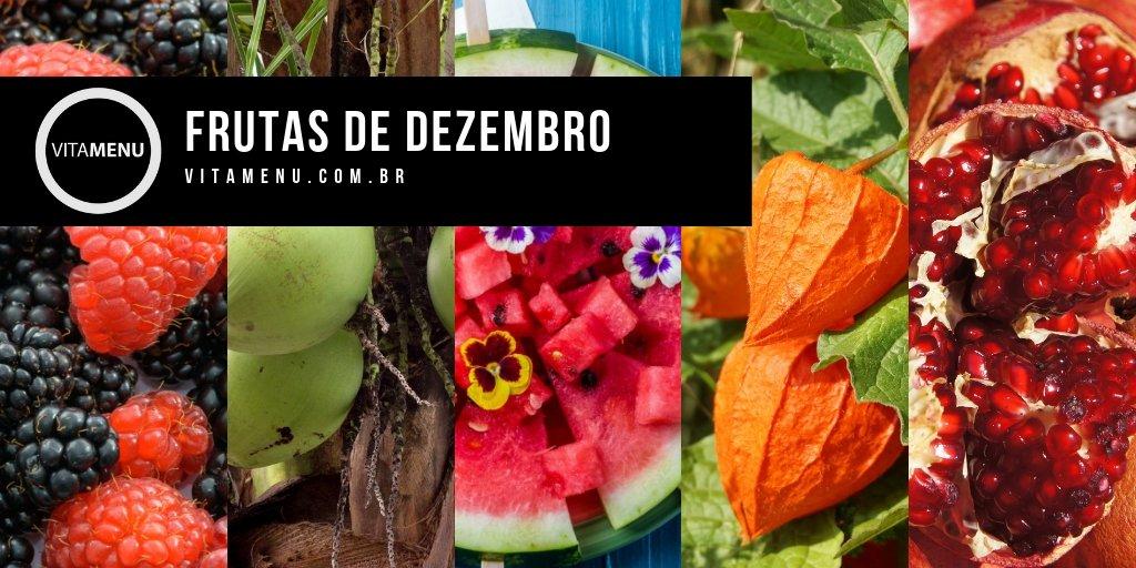 [Safra] Frutas Da época Do Mês De Dezembro