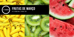 frutas da época de março