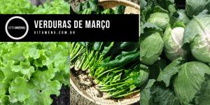 verduras de março